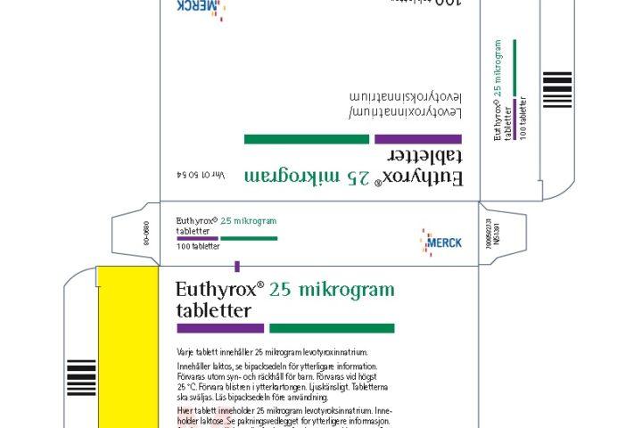 Informasjon om overgang fra Levaxin til Euthyrox.
