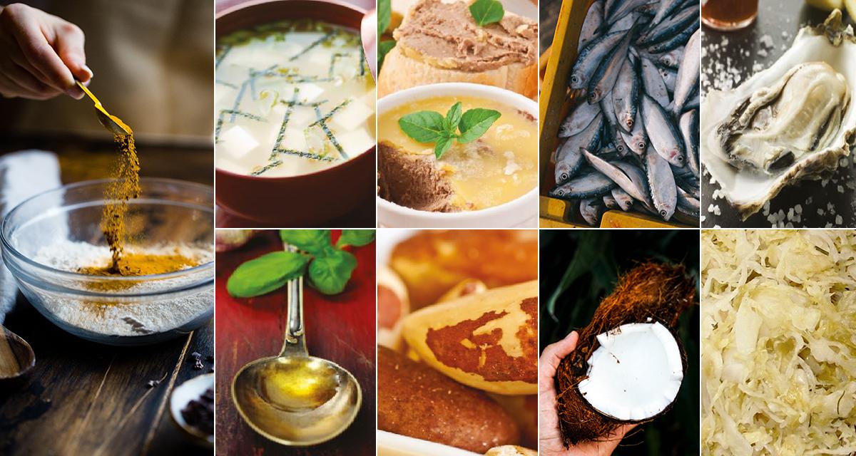 Ni matvarer for bedre helse