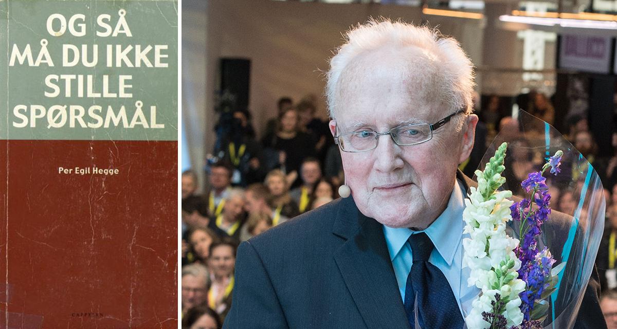 Les Per Egil Hegges bok om stoffskifte