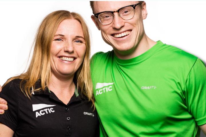 Få godfølelsen med trening hos Actic