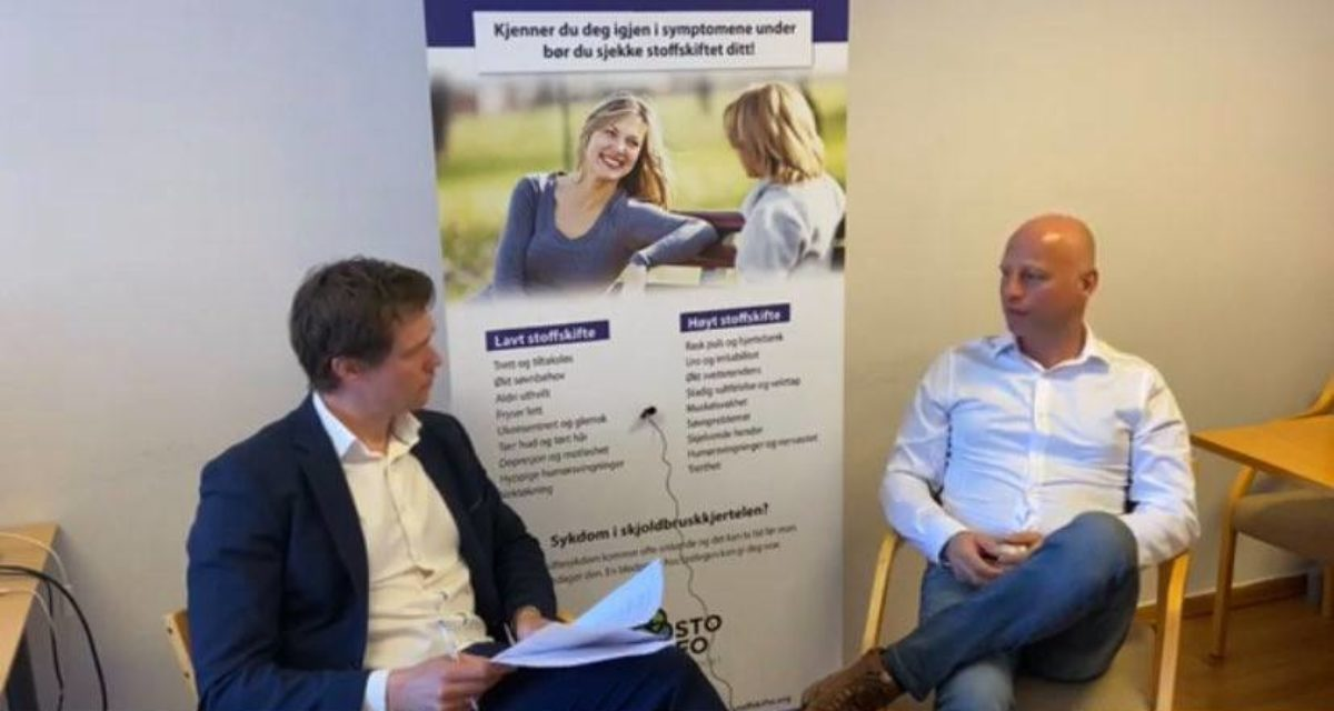 Thyroideauken 2020: Videointervju med Lars Omdal