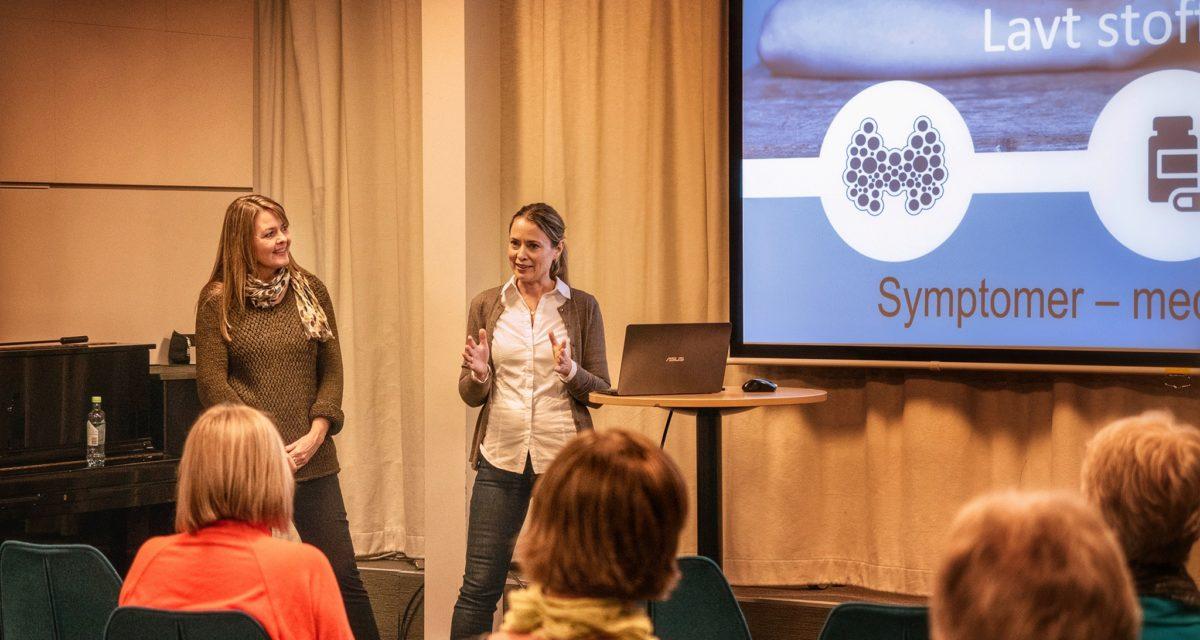Åpent møte om kosthold med Nina Husø og Helén O. Fuhr