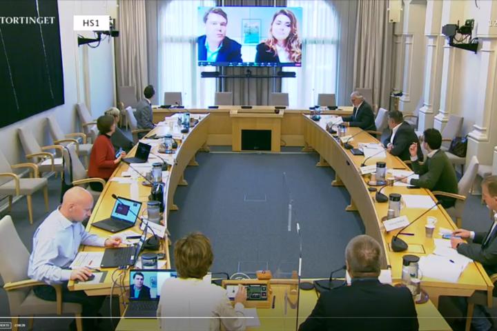 Statsbudsjettet 2021: Åpen høring i Stortingets Helse- og omsorgskomité