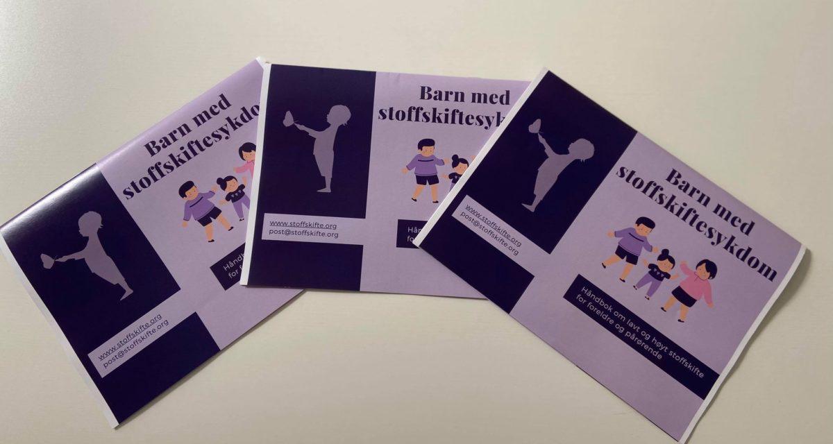 """Digitalt hefte for foreldre og pårørende: """"Barn med stoffskiftesykdom"""""""