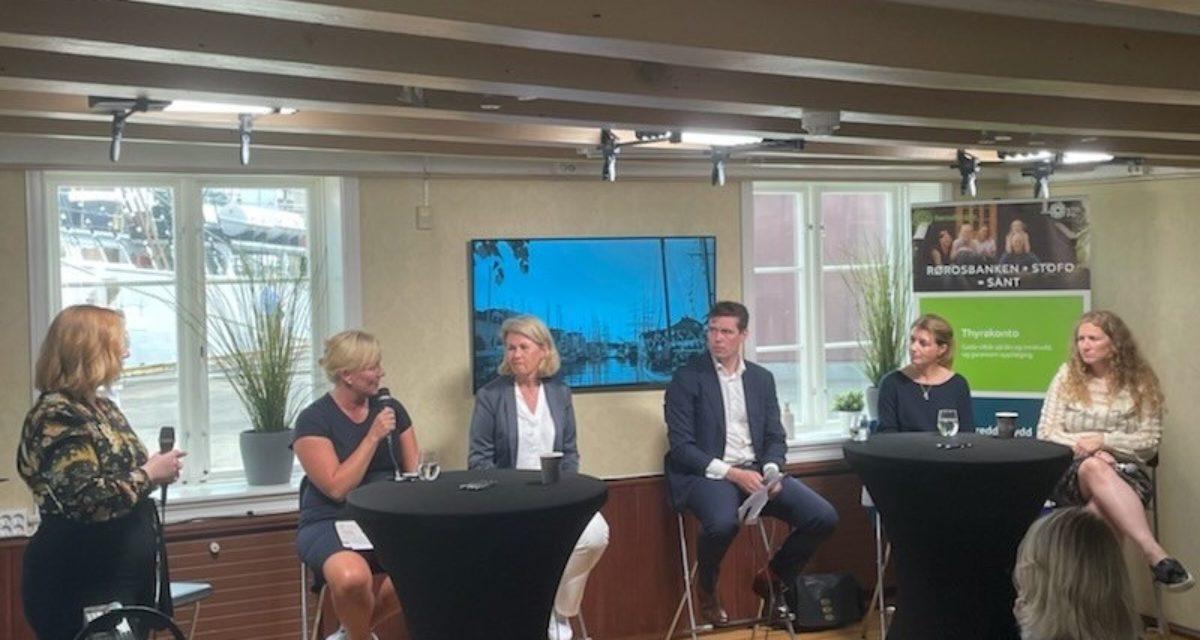 Vellykket paneldebatt om kvinnehelse under Arendalsuka